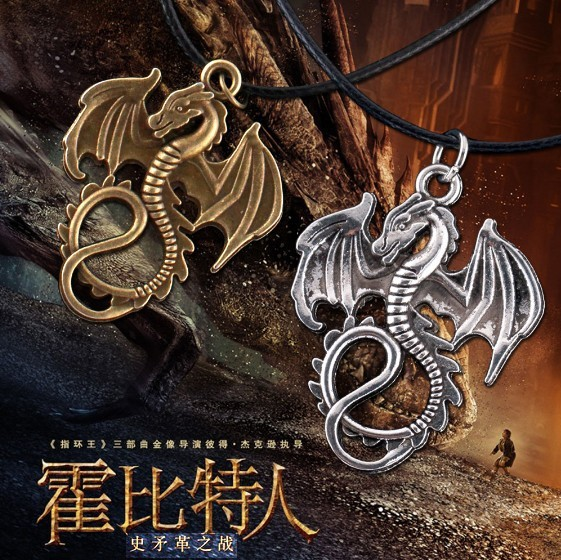 Khaleesi Dragon Necklace