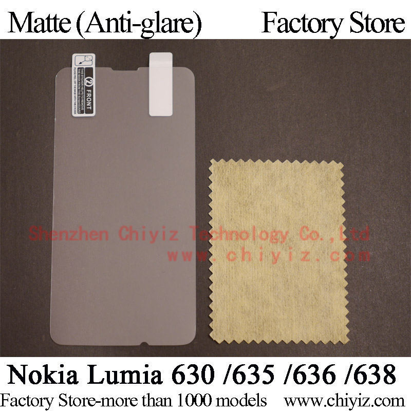 Matte Anti glare Frosted LCD Screen Protector Guard Cover Protective Film Shield For Nokia Lumia 630
