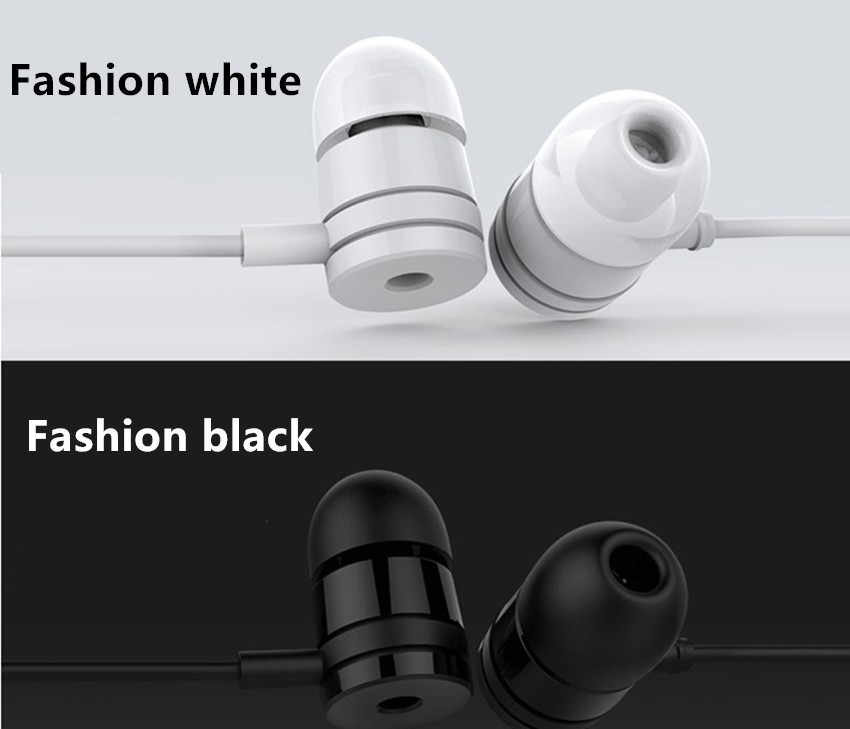 New 3.5mm In-Ear Wired  Earphone & Earphone For IPHONE For Samsung Xiaomi for Android Smartphone MP3 MP4