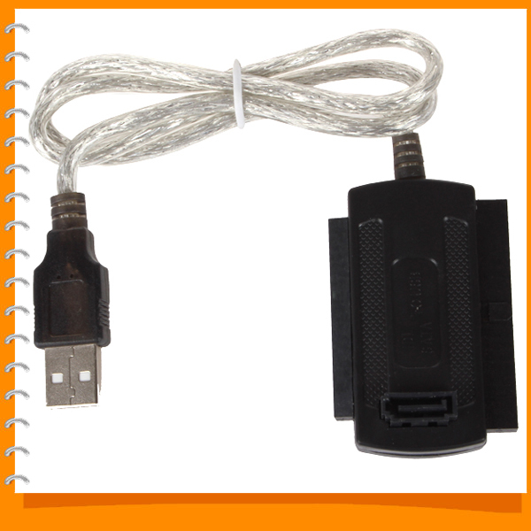 USB 2.0 to SATA Cable / IDE Converter Adapter Cable for 2.5'' HDD / 2.5 3.5 Hard Disk / CD-ROM / DVD-ROM /CD-RW / COMBO Devices(China (Mainland))
