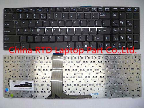 Laptop keyboard For MSI GE60 black US English with frame V139922CK1 UI SIN-3EUS206-SA0<br><br>Aliexpress