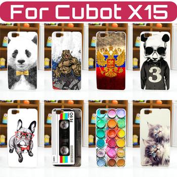 Etui Cubot X15 Case Cover | malowane wzory | plecki