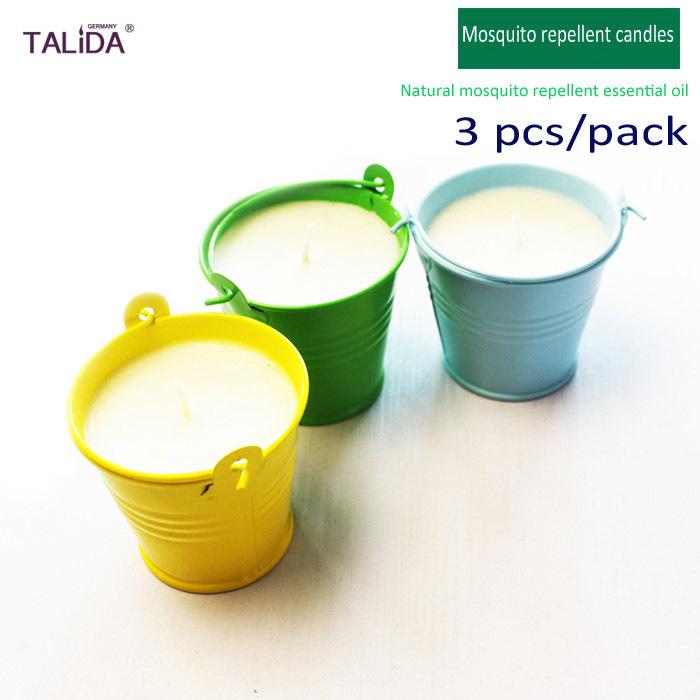 180 g 6 3 oz 3 unids set anti mosquito esencial velas de for Velas anti mosquitos