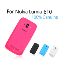 Candy Color Back Cover Battery Housing Door Cover Replacement for Nokia Lumia 610 N610 Battery Door 100% Genuine Original(China (Mainland))