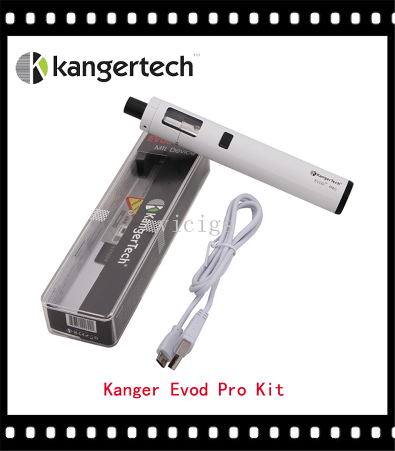 100% Original Kanger EVOD Pro All-in-One for MTC Kit with Top-filling Design 4ml Tank fit 18650 Battery(China (Mainland))