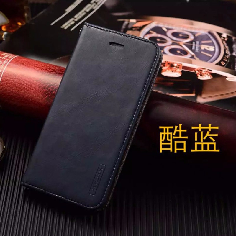 Deluxe PU Leather Card Slot Wallet Flip Case Cover For iPhone 6 Plus 6S Plus 5.5inch Stand Back Soft TPU Silicone Protect Covers