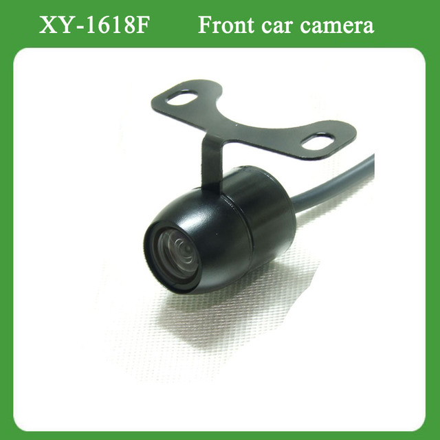 Front view car camera with newest high resolution low lux sensor 170 degree lense best for parking and driving assist