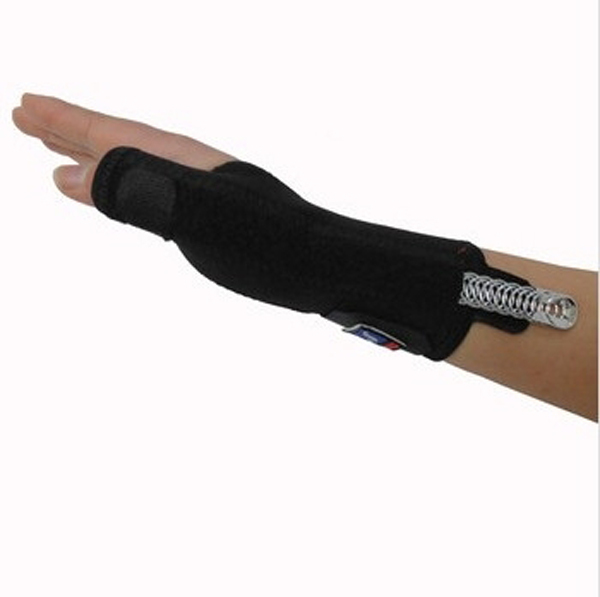 1pc/lot Arthritis Pain Sport Training Thumb Fitted Correction Elastic Thumb Wrap Hand Palm Wrist Brace Splint Support pa675705(China (Mainland))