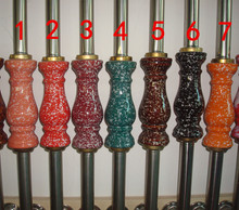 Stair column armrest 304 ceramic vase stainless steel column balcony fence decoration tube(China (Mainland))