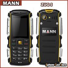 MANN ZUG S 2.0 inch Waterproof Dustproof Shockproof Mobile Phone MTK6260A Support Dual SIM GSM Network Waterproof Grade: IP67