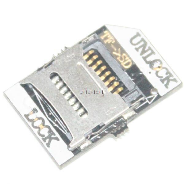 Hot Sale Smart Electronics 10pcs Raspberry Pi TF to SD Card Adapter Converter for Arduino DIY Starter Kit Free Shipping(China (Mainland))