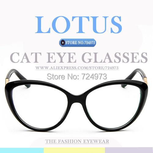 Japanese designer brand cat eye women eyeglasses frame UV400 protection female glasses clear lens monturas de gafas anteojos - Lotus Warehouse store