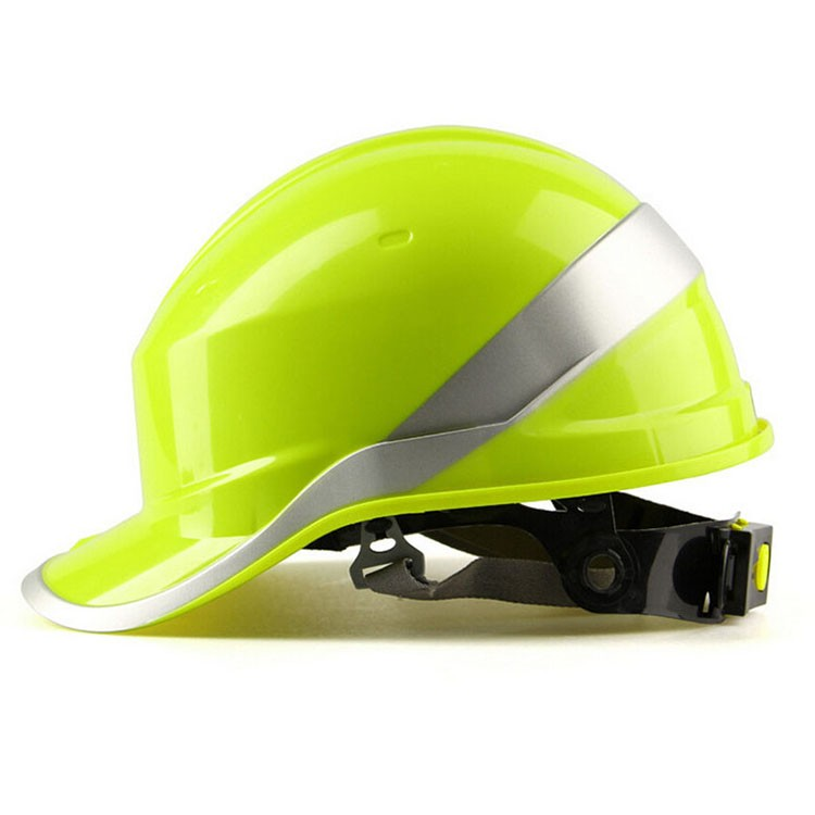 Safety Helmet Hard Hat Work Cap ABS Insulation Material With Phosphor Stripe Construction Site Insulating Protect Helmets 102018 (7)