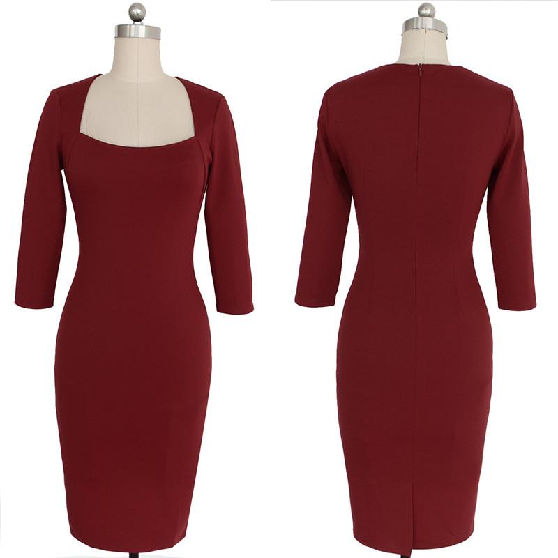 Женское платье Vfemage Clubwear Bodycon 2023