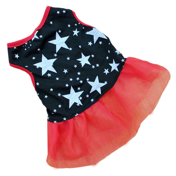 Hot Marketing Hot!Pet Dog Puppy Tutu Princess Dress Dot Lace Skirt Party Costume Apparel June23(China (Mainland))
