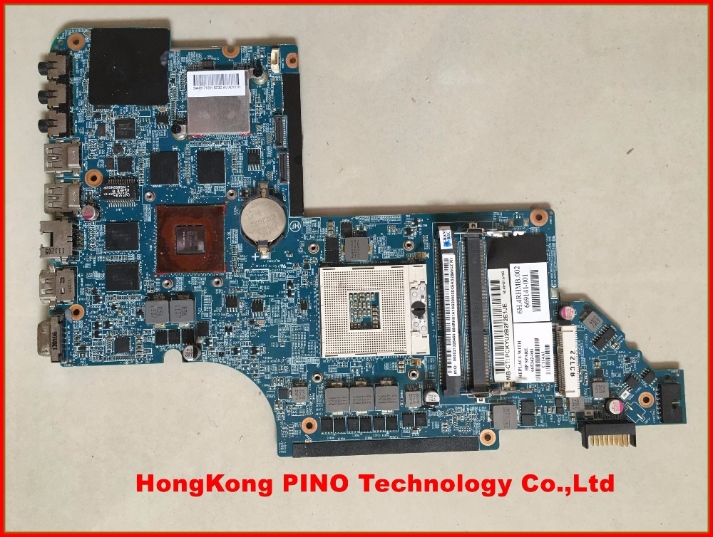 665342-001 for hp Pavilion DV6 DV6-6000 laptop motherboard HM65 HD6770/2G 100% tested(China (Mainland))