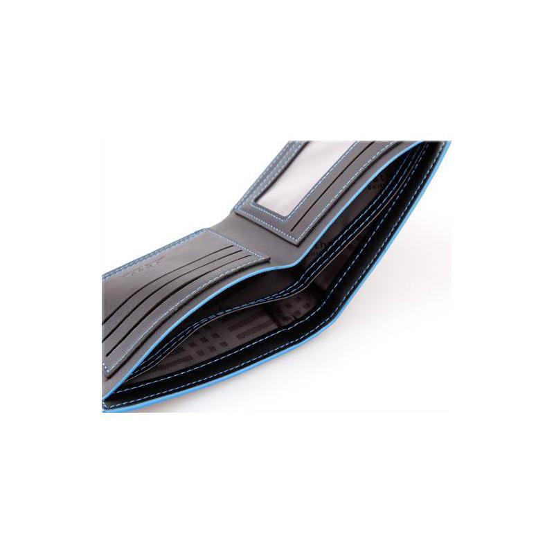 2014 New Fashion Brand Wallet Men Wallet Pu Leather Man Waterproof Billfold Colorful Men Purses Blue