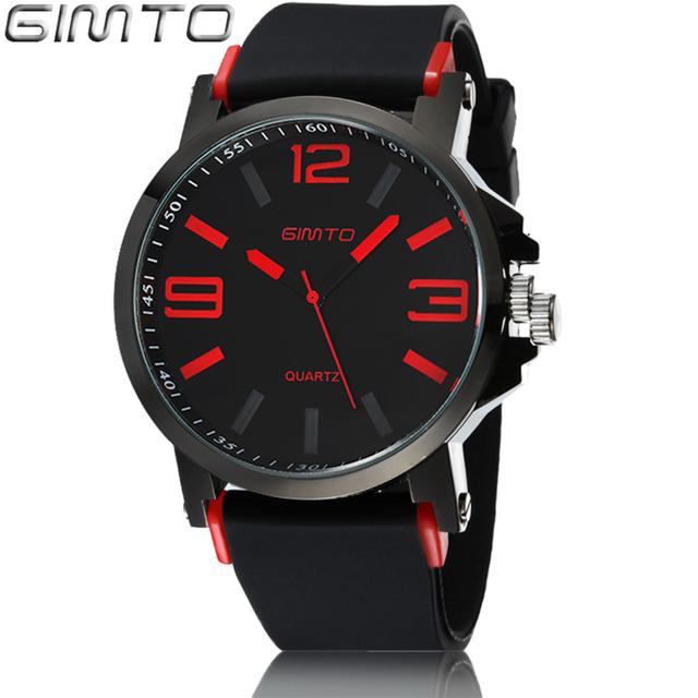 Zegarek męski z dużym wyświetlaczem w nowoczesnym sportowym stylu różne kolory
