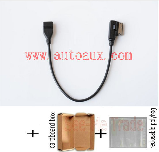 Popular Cable Volkswagen Mdi Usb Buy Cheap Cable: Media In USB Adapter Cable Fit Audi AMI MMI VW Skoda MDI