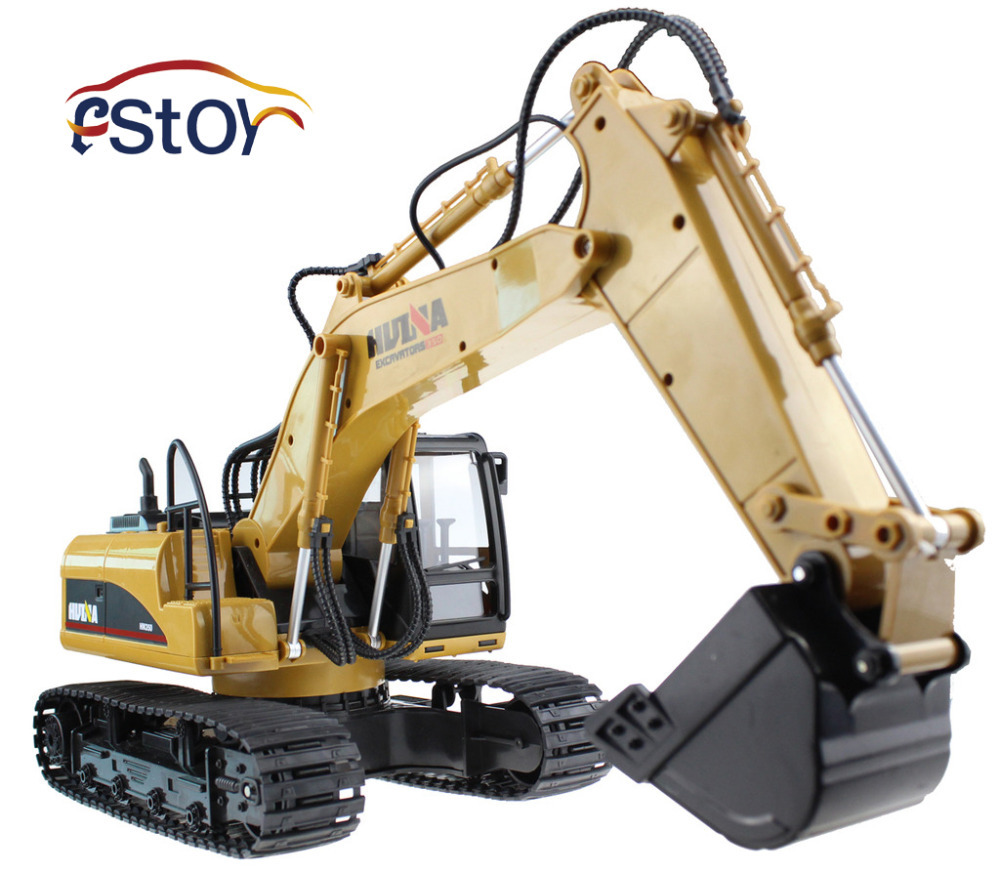 RC Excavator 15CH 2.4G Remote Control Constructing Truck Crawler Digger Model Electronic Engineering Truck Toy(China (Mainland))