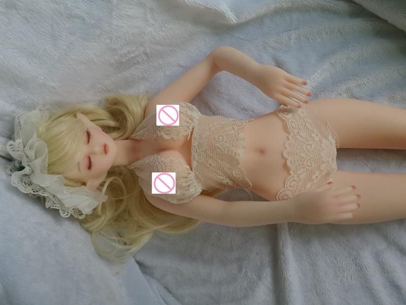 Sex Products 68cm Mini Full Silicone Male Sex Doll With Bone, Japanese Silicone Love Doll. Torso Doll. Sex Toys(China (Mainland))