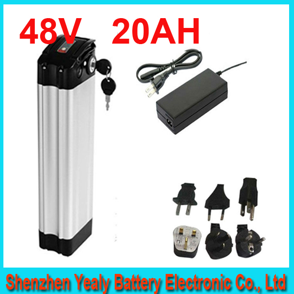 Top discharge ebike 48v battery electric bike battery 48V 20Ah,for bafang/8fun 700w motor with Aluminium Case For Samsung cell(China (Mainland))