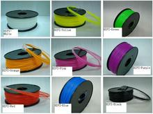 multi colors 3d printer filament HIPS 1.75mm 1kg Consumables Material MakerBot/RepRap/UP/Mendel High quality