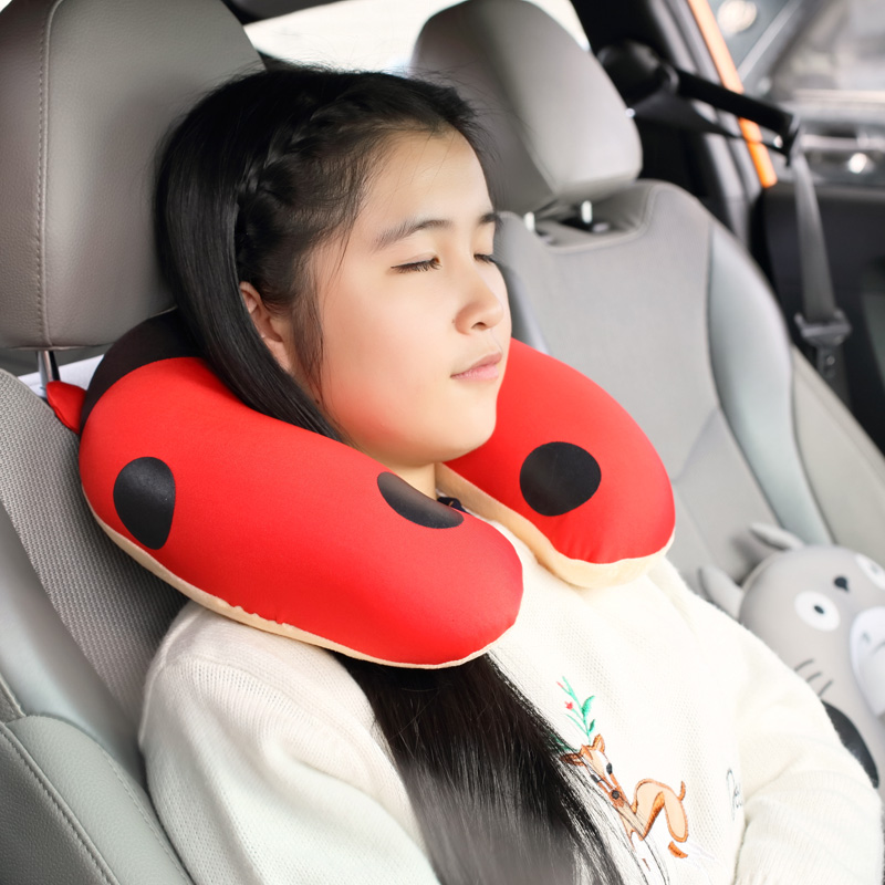 New Comfortable U-shape Travel Neck Pillow Plain Flight Car Train Bus Trip Home Office Siesta Rest Nap Relax Health Protection