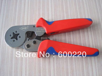 Cable-end sleeves crimping tools for cable ferrules 0.25-6mm2,self-adjusting crimping tool LSC8-6-4A