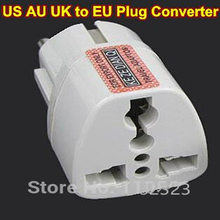 Buy White Universal Travel Power Plug AU UK US EU Socket Plug Travel Charger Adapter Converter for $1.65 in AliExpress store