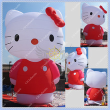 Cute 6m Height Inflatable Kitty for Events,CE or UL certificated Blower Included(China (Mainland))