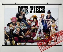 One Piece Home Decor Anime Japanese Poster Wall Scroll Luffy Portgas Nami157