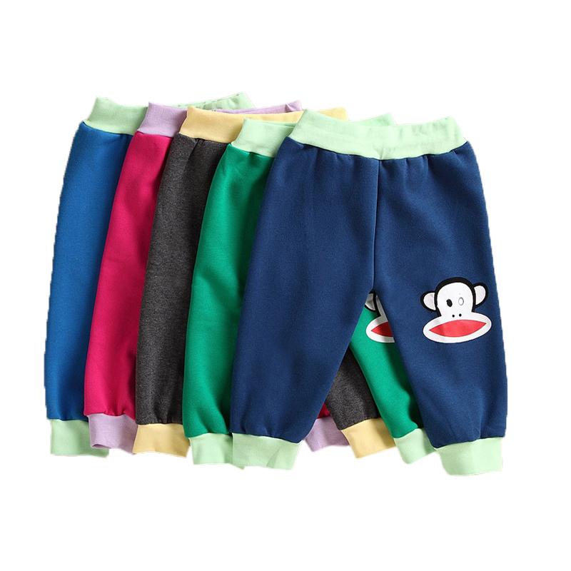 2016New Spring Autumn kids clothing font b boys b font girls harem pants sports trousers leggings