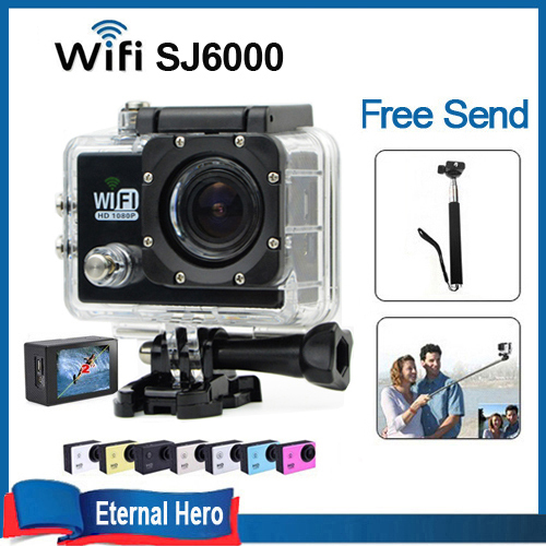wifi action camera 12mp 1080p video