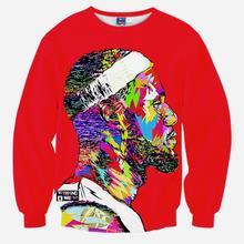 H&Unique-Men's 3d sweatshirts print basketball star Jordan casual sports hoodies long sleeve autumn tops pullovers(China (Mainland))