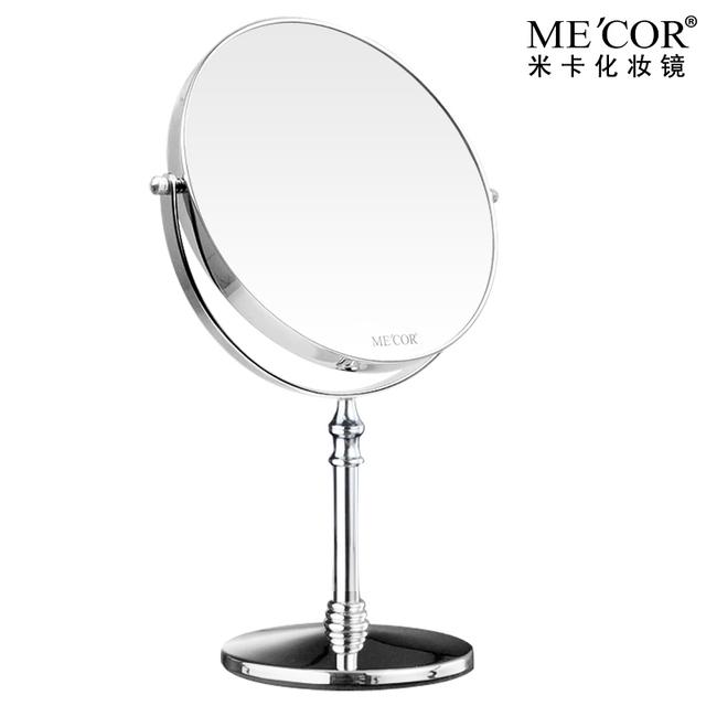 mica makeup mirror desktop mirror vanity mirror table mirror double faced large. Black Bedroom Furniture Sets. Home Design Ideas