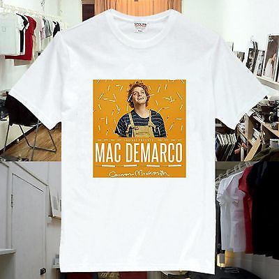 Mac Demarco Connan Mockasin Rock Music Band CD T-Shirts Unisex MD6(China (Mainland))