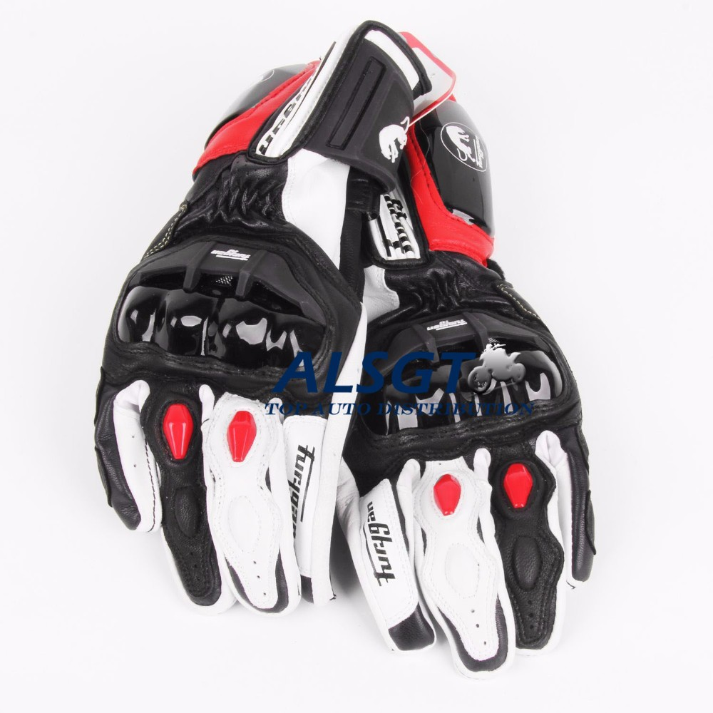 Free shipping Top Brand GP PRO Motorcycle TOP Leather Motocross Moto Road Racing Gloves Motorbike Protection stars