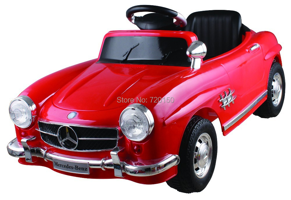 Mercedes benz 300sl rarrier baby ride on car r c carriage for Mercedes benz baby pram