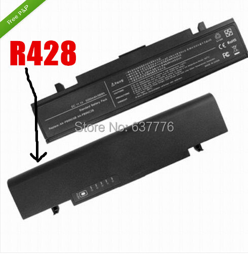 replacement battery for Samsung Q430 R420 R428 R429 R430 R430 R460 R463 R464 R465 R466 R467 R468 R470 R470 R478 R480 R500 R518(China (Mainland))