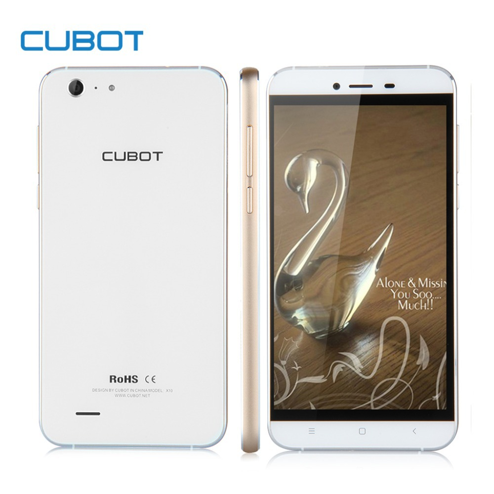 Original Cubot X10 Waterproof Mobile Phone 5.5inch Android 4.4 MTK6592 Octa Core 2GB RAM 16GB ROM HD 13MP Camera Smartphone(China (Mainland))