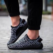 welen.liu Men & Women Casual Shoes Fashion Breathable Shoes Men Lace Up Flat Shoes Woman tenis feminino Plus Size 34-46 No Logo(China (Mainland))