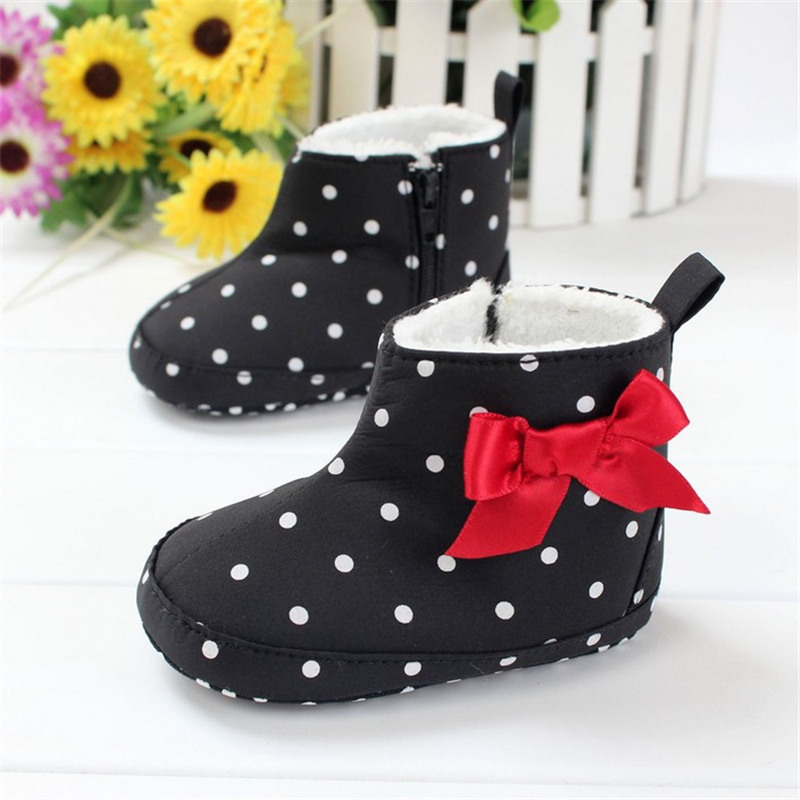 2016 New Brand Super Warm Children Winter Booties Baby First Walkers Ankle Snow Boots Infant Anti-slip Shoe Prewalker Baby Shoes(China (Mainland))