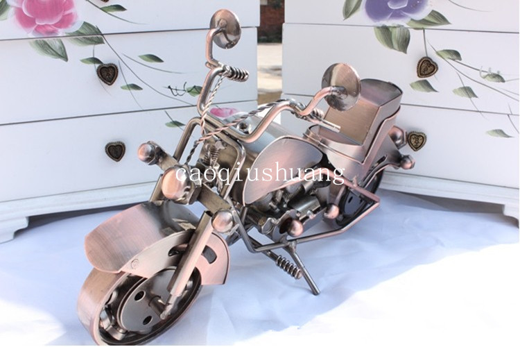 Large motorcycle decorations office desk small decoration for Motorcycle decorations home