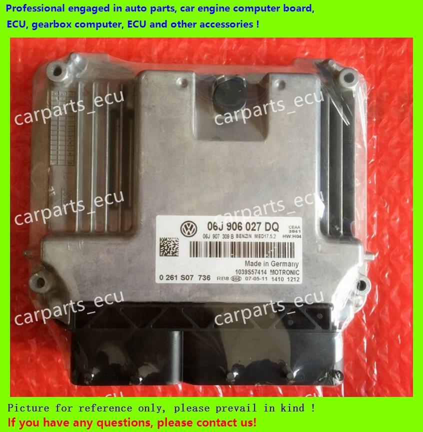 For VW Magotan/Passat car engine computer board/ECU/Electronic Control Unit/Car PC/ 06J 906 027 BL/06J906027BL/driving computer(China (Mainland))