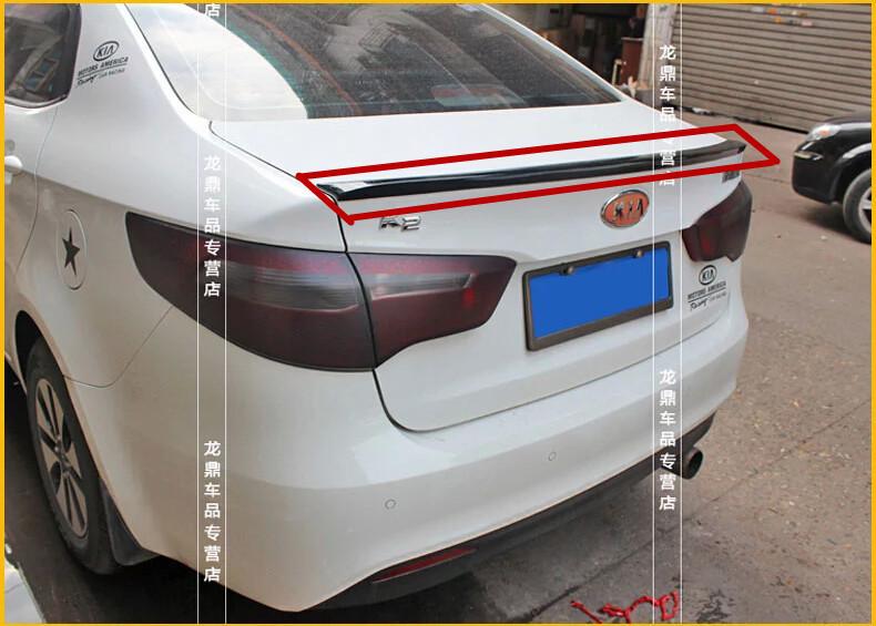 High Quality!Gray Primer Car Rear Trunk Spoiler Wing Spoilers Rear Diffuser(1 PCS) KIA RIO/K2 Free shipping<br><br>Aliexpress