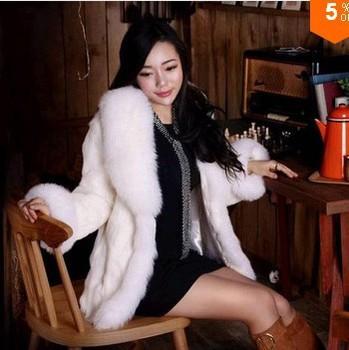 2015 autumn and winter luxury faux fox fur outerwear women high quanlity fur coat,ladies fashion fur jackets,women's fur coat