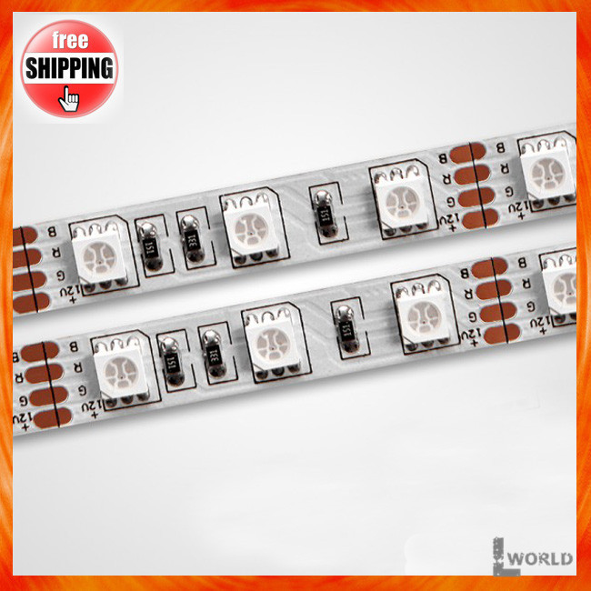 IP68 fully waterproof SMD5050 30LEDs/m 150leds RGB LED strip light 5m/roll(China (Mainland))