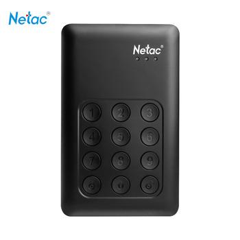 Netac K390 1TB USB3.0 External Hard Drive Disk Keypad Lock AES 256-bit Hardware Encryption HDD Externo Disco HD Disk