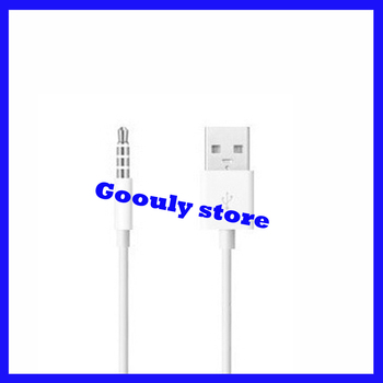 5pcs/lot USB Data Cable / USB DATA Sync Adapter Cable for iPod Shuffle 2nd Gen Free Shipping
